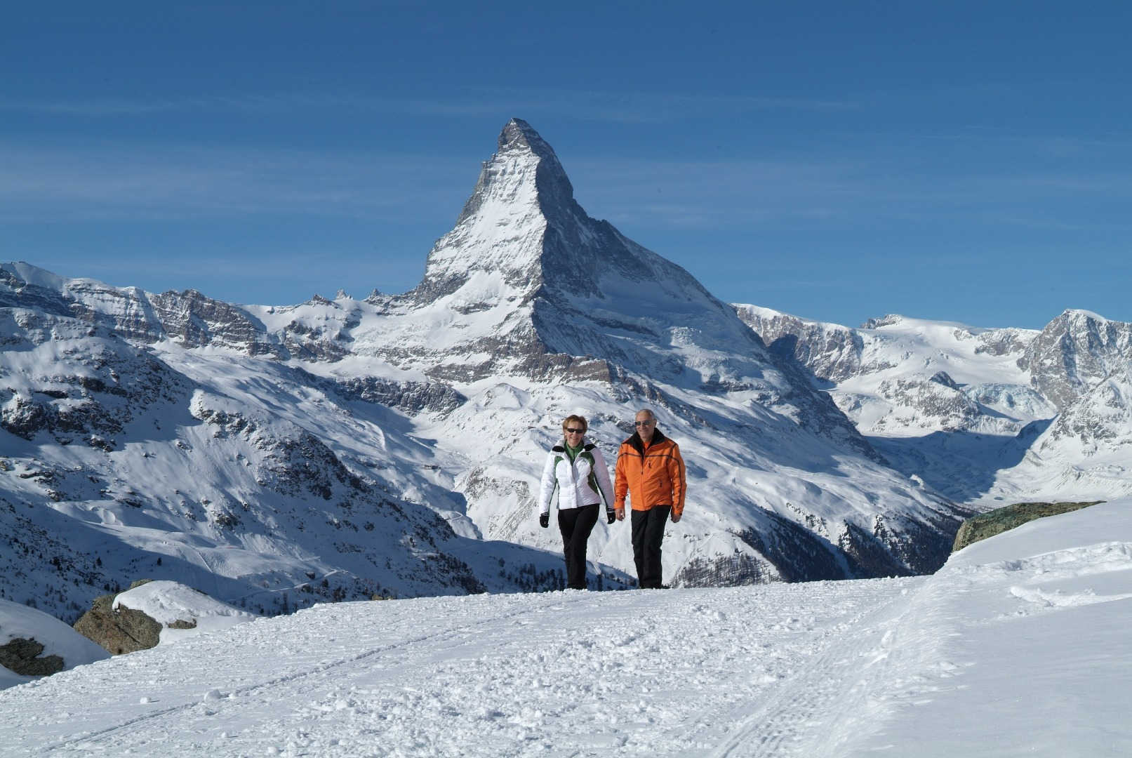 Winter hike Zermatt