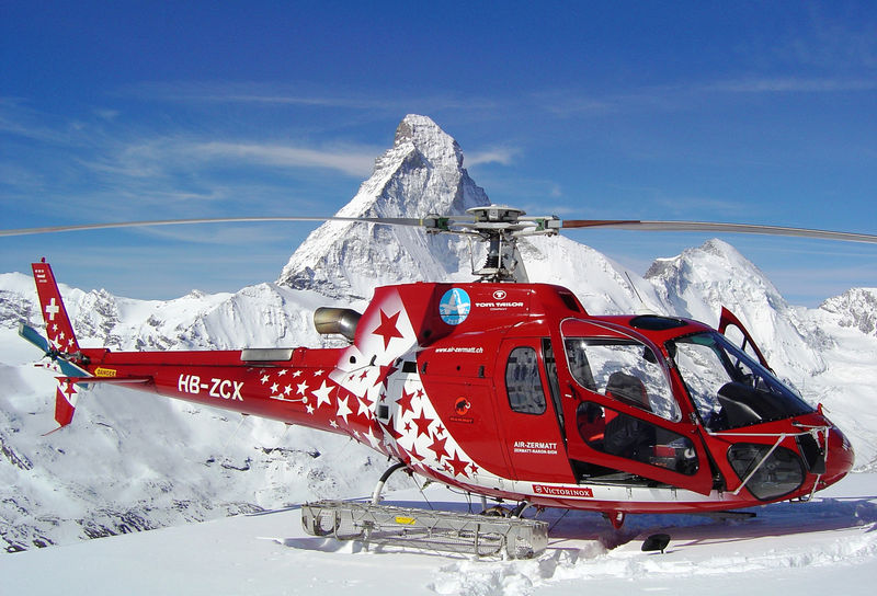 Air Zermatt flight